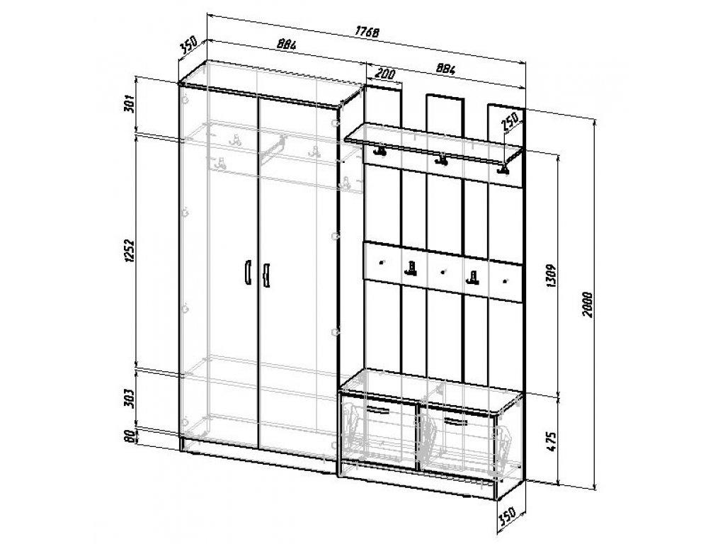 типе чертежи шкафов для верхней одежды фото что металлические