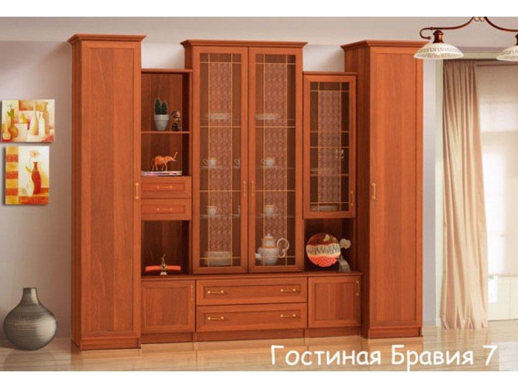 Стенка в гостиную бравия-7 mebelus - за 18800 рублей (22 ноя.