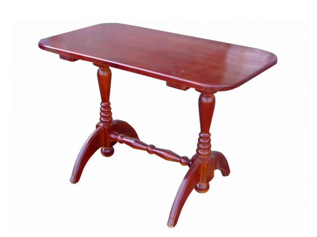 Обеденный стол на двух ножках