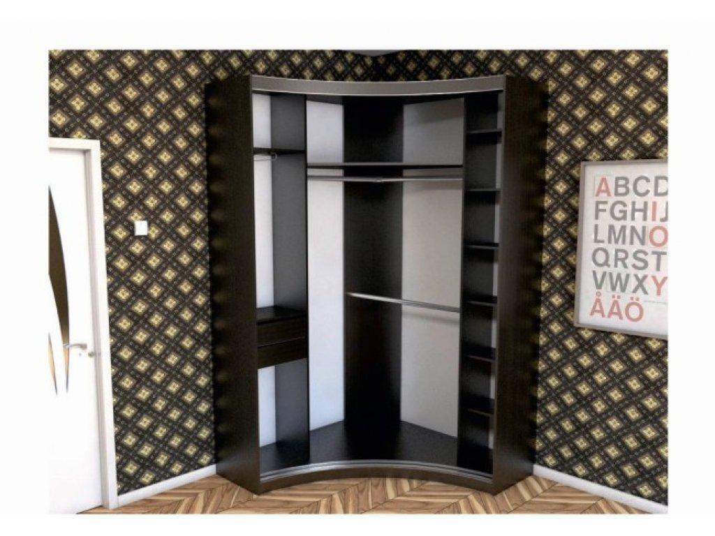 Радиусный шкаф купе Радион
