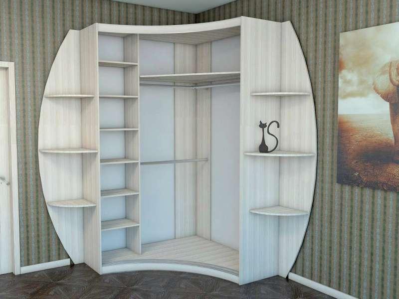 шкафы радиусные шкафы купе фото