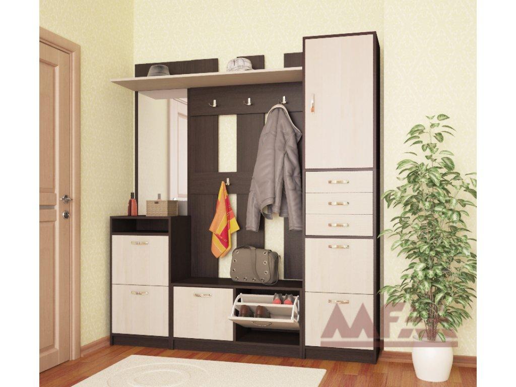 Мебель для маленькой прихожей - прихожая ольга-7 вк.