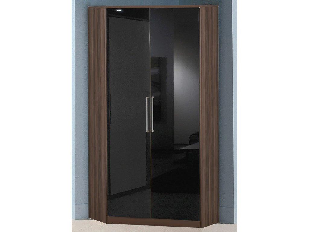 Шкафы распашные - форма шкафа: угловой; комплектация: без зе.