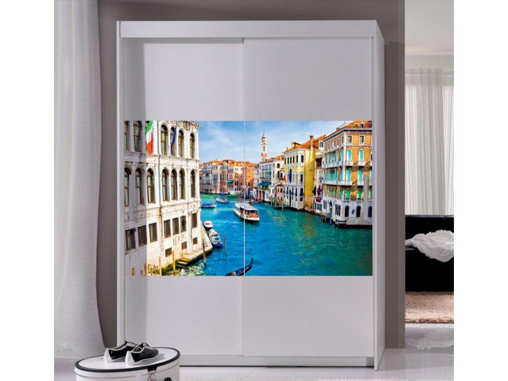 шкафы купе с фотопечатью вид из окна выставка электро