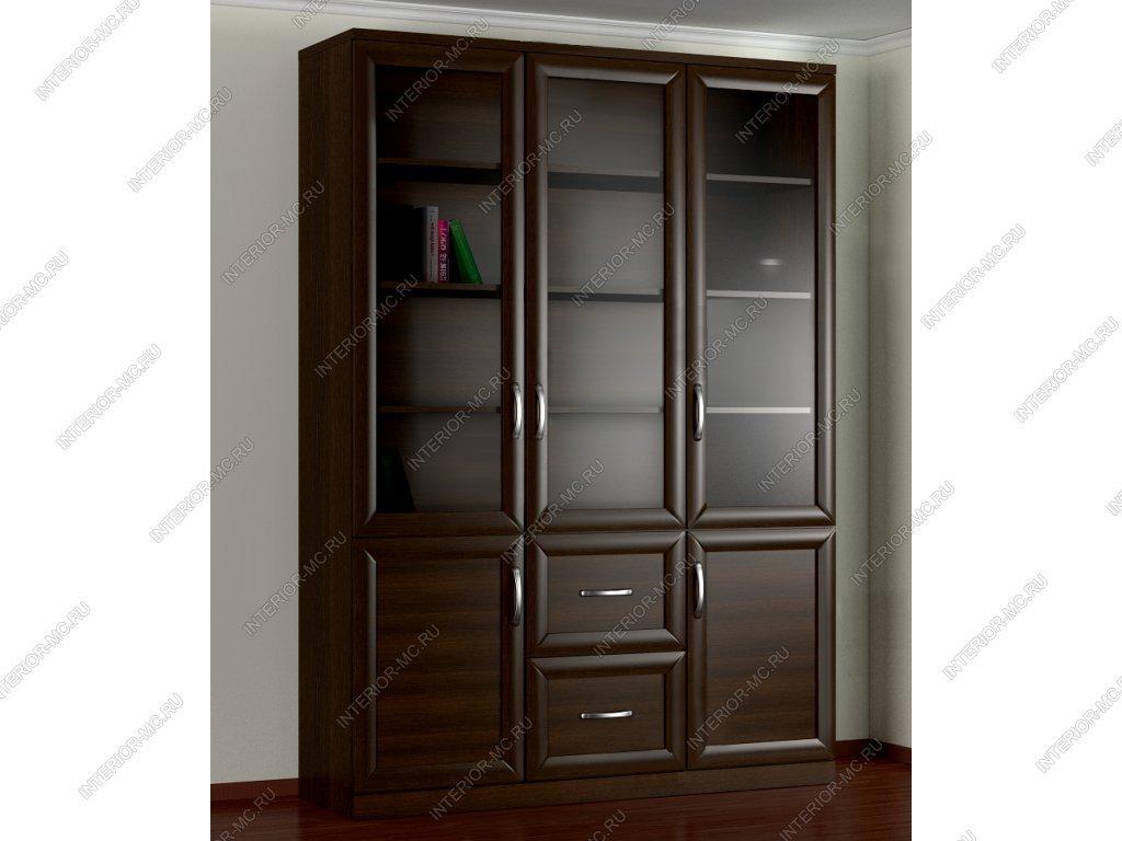 Стеллаж 3-х створчатый 6 / корпусная мебель / стеллажи / кат.