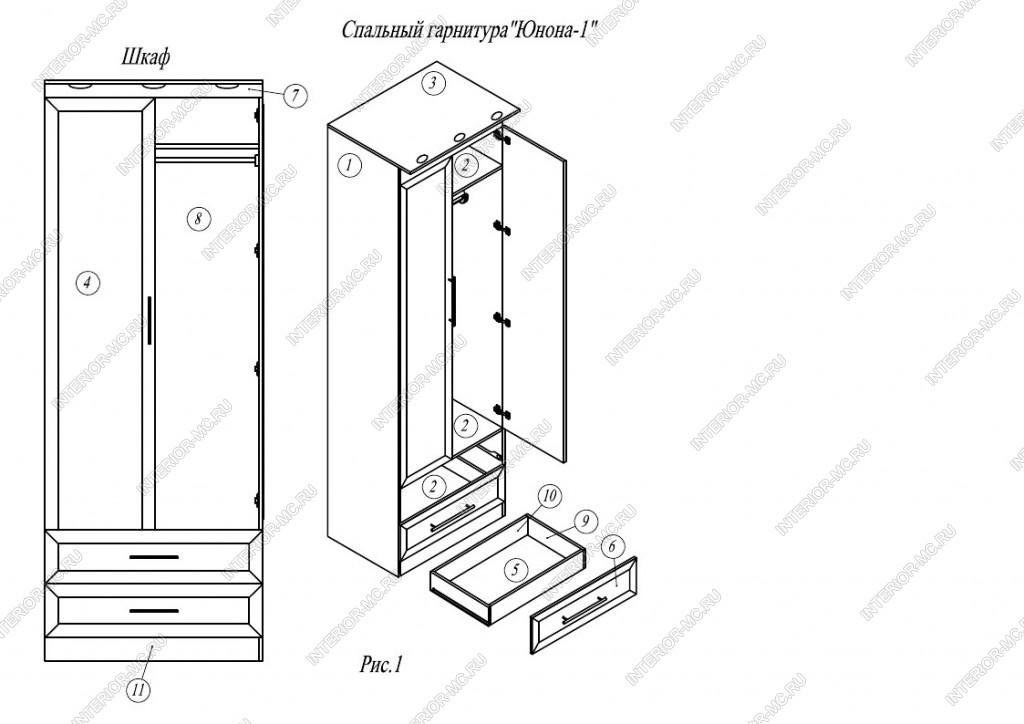 Чертежи для сборки мебели своими руками